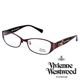 Vivienne Westwood 英國薇薇安魏斯伍德金屬惡魔 土星款 棕 VW27704