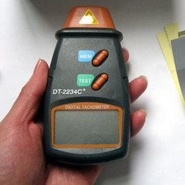 (數位顯示) DT-2234C 雷射測速器/鐳射轉速表/轉速測試儀/轉速表