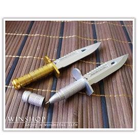 【winshop】A2052 小刀造型原子筆/武器造型筆/中性筆/造型原子筆/創意文具/廣告筆/中性筆