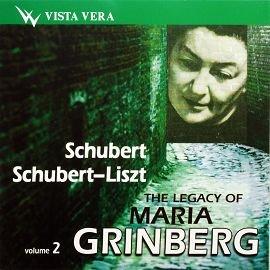 VISTA VERA VVCD00108 格林貝格蘇聯女鋼琴家傳說二 Maria Grin