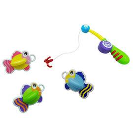 樂雅洗澡玩具-快樂撈魚組 (7195)