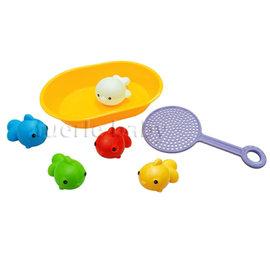 樂雅洗澡玩具-快樂撈魚組 (7196)
