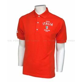 6折出清~KAPPA~休閒 運動  彈性 纖維 POLO衫-橘紅 (A142-1050-2)