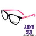 Anna Sui安娜蘇 Dolly Girl系列光學眼鏡繽紛印花款•黑 粉~DG51000