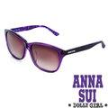 Anna Sui安娜蘇 Dolly Girl系列日系圓點甜心少女款 太陽眼鏡•紫~DG80