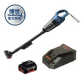 BOSCH 18V吸塵器GAS 18V-Li (充電器+4.0電池一顆)套裝組★附有LED燈 方便夜間作業照明