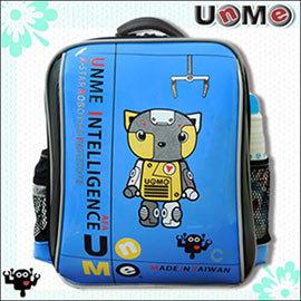~UnMe機器人~超輕單層後背書包/藍色