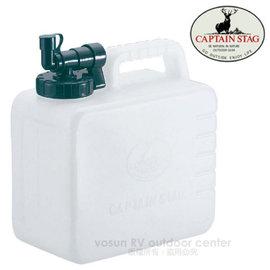 【日本鹿牌 CAPTAIN STAG】5L抗菌水箱.抗菌寬口水桶.茶桶.飲料桶 /抗菌加工.衛生安全/M-6949
