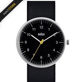 德國百靈 Braun BN0021 腕錶 極簡系列 皮革錶帶 iF 大獎