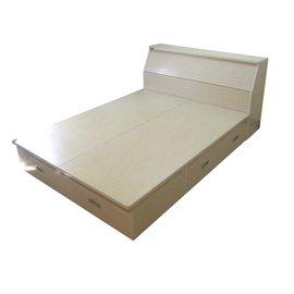 ~正陞塑鋼 ~雙人床^(GD150~06~30H^)_收納空間大 防水防霉防蟲 床架 床組