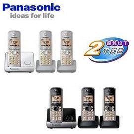 Panasonic 國際牌數位中文三子機無線電話 KX-TG6813 / KXTG6813 **免運費**