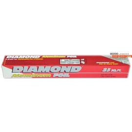 【吉嘉食品】鑽石牌DIAMOND 鋁箔紙 1支(30.4cm*7.62m)42元,另有塑膠杯,塑膠繩{0010900000840:1}