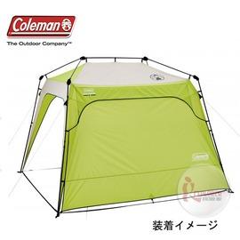 探險家露營帳篷㊣CM-7215美國Coleman 快搭遮陽帳邊布圍布 (綠) 296*190 (單片販售) 適用CM-7214