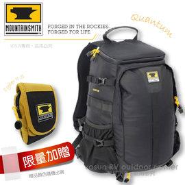 【美國 MountainSmith】28L QUANTUM 頂級專業相機包.背包 (贈Cyber II S)適登山健行(非Lowepro snoy Nikon Canon, MS6Out) D48101701 黑