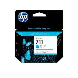 HP NO.711 藍色墨水匣三入一組 CZ134A  29ml ~3  :HP T520