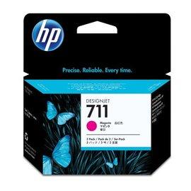 HP NO.711 紅色墨水匣三入一組 CZ135A  29ml ~3  :HP T520