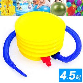 抽充兩用4.5吋腳踩打氣筒P260-45(打氣桶充氣筒充氣桶.手動幫浦打氣機PUMP.適用游泳池.瑜珈球抗力球充氣球.推薦哪裡買)