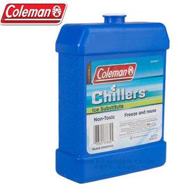 【美國 Coleman】CHILLERS BRITE ICER 保冷劑(大).冷煤.保冷磚.冷凍磚.冰磚/戶外行動冰箱專用/CM-1444