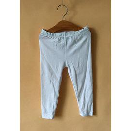 女童純白彈性布打底褲.9分褲╱白色  4 5T~10 12T  ~彈性佳,薄款~