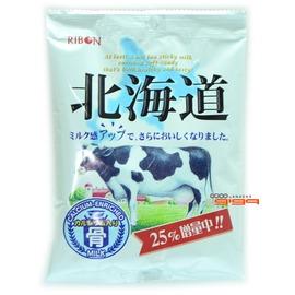 缺貨@-【吉嘉食品】RIBON立夢 北海道牛奶糖 1包100公克70元,日本進口{4903316430171:1}
