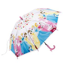 ~Q Mi shop~女童雨傘迪士尼白雪公主睡美人仙度瑞拉兒童半自動卡通雨傘