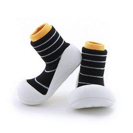 【本月特價$599】韓國【Attipas】快樂腳襪型學步鞋-香蕉牛奶系列