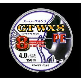 ◎百有釣具◎太平洋POKEE GTWX8 PE線5色 300M  ~規格:2 / 3 超好評