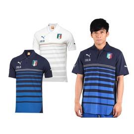 PUMA 男短袖POLO衫(免運 短袖T恤 世界盃足球賽 義大利【03320621】≡排汗專家≡