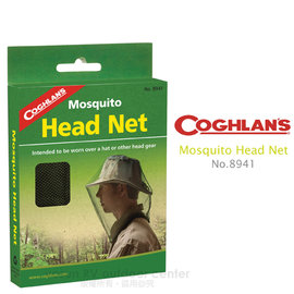 【Coghlans -加拿大】防蚊罩網(捕蜂 防蜂 防蚊蟲)Mosquito Head Net.超輕量化、透氣 # 8941(缺貨中)