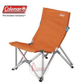 探險家戶外用品㊣CM-5996美國Coleman 樂活椅 (杏黃) 鋁合金 休閒椅 新大川椅 折疊椅 導演椅