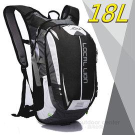 ~LOCAL LION~18L 超輕大容量防潑水背包^(650g^) 自行車背包_戶外路跑
