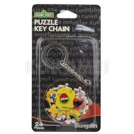 ~KOKOMEI~Sesame street 芝麻街 3D拼圖鑰匙圈~音樂篇