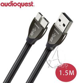 ~A Shop~美國 Audioquest USB 3.0 CARBON 傳輸線 1.5M