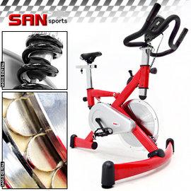 6期0利率【SAN SPORTS】極速F1飛輪健身車.磁控健身車.4倍強度飛輪車C121-92HA自行車腳踏車公路車訓練機台.另售電動跑步機踏步機