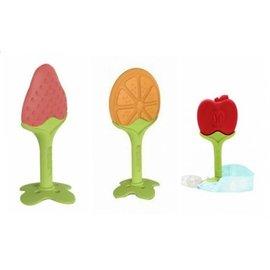 ANGE 水果寶寶智慧奶嘴帶固齒器 3款水果造型 *韓國進口便利攜帶新上市!!*