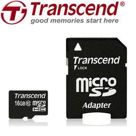 ~上震科技~Transcend 創見 microSDHC UHS~I 16GB Class