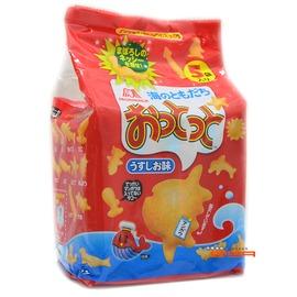 【吉嘉食品】森永 小魚餅(鹽味) 1包5入90公克85元,日本進口,另有哈瑪達骨威化餅,手指圈圈餅{4902888188404:1}