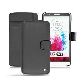 NOREVE LG G3 側掀式支架真皮皮套 手機套 保護殼 保護套 手工訂製 法國頂級手機皮套 推薦