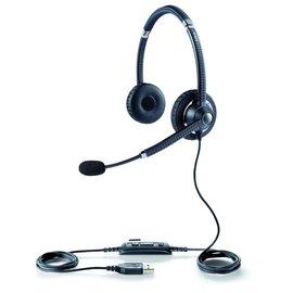 「捷泓科技」 Jabra UC VOICE 750Ms USB雙耳耳麥 高 高規格 皮革耳