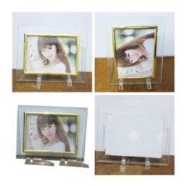 5寸7寸10寸透明水晶 玻璃相框簡約像框影樓相框相架塑料支^(5個^)