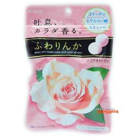 【吉嘉食品】Kracie 玫瑰軟糖(玫瑰薔薇花香軟糖) 1包32公克45元,日本進口,另有米奇棒糖{4901551338252:1}