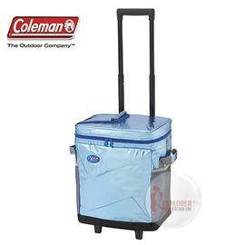 探險家戶外用品㊣CM-X660 美國Coleman 40L Xireme 拖輪保冷袋 (拖輪) 行動冰箱/冰桶/保冷箱