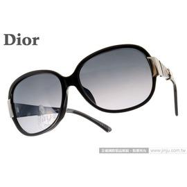 DIOR 太陽眼鏡 MIDNIGHTK 807HD  黑  晶鑽華麗 款 墨鏡 # 金橘眼