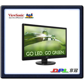 優派 ViewSonic VA2246A~LED 22吋 Full HD 超高畫質顯示器