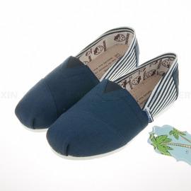 Treasure ~兒童 懶人舒適 真皮鞋墊 帆布鞋- (K8140605)