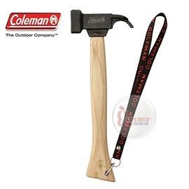 探險家戶外用品㊣CM-2872 美國Coleman 強力達人鋼鎚II 鑄鐵鎚 營釘鎚 營釘槌 營鎚 營槌
