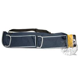 ◎百有釣具◎台灣製造 中級帆布竿袋 ~規格:4尺  方便使用 材質耐操壽命長