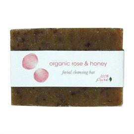 100^%Pure玫瑰蜂蜜洗顏 精油皂3.5oz 99.2g