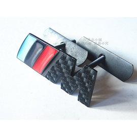 YP逸品小舖 寶馬 BMW 黑碳纖維 M 水箱罩中網標 附螺絲 M3 M5 M6 335