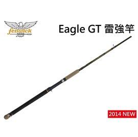 ◎百有釣具◎美國鷹牌Eagle GT 美式強悍的風格 雷強竿EGTCS801XHA   ~送 8鼓編織五色PE線100M